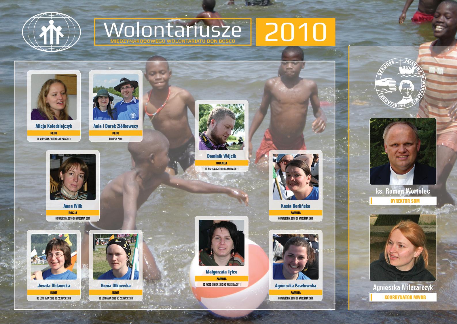 WOLONTARIAT - TABLO 2010