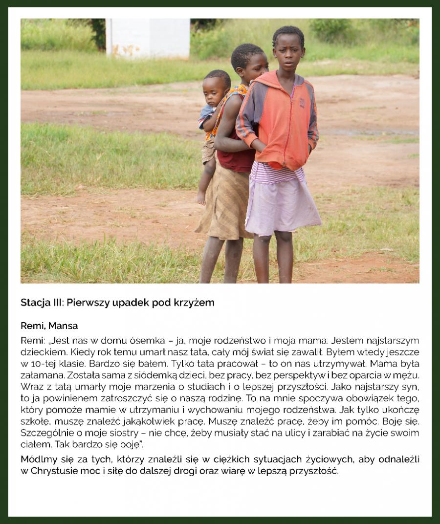 KAMPANIA - MISJA POST - DROGA KRZYŻOWA - ZAMBIA - III