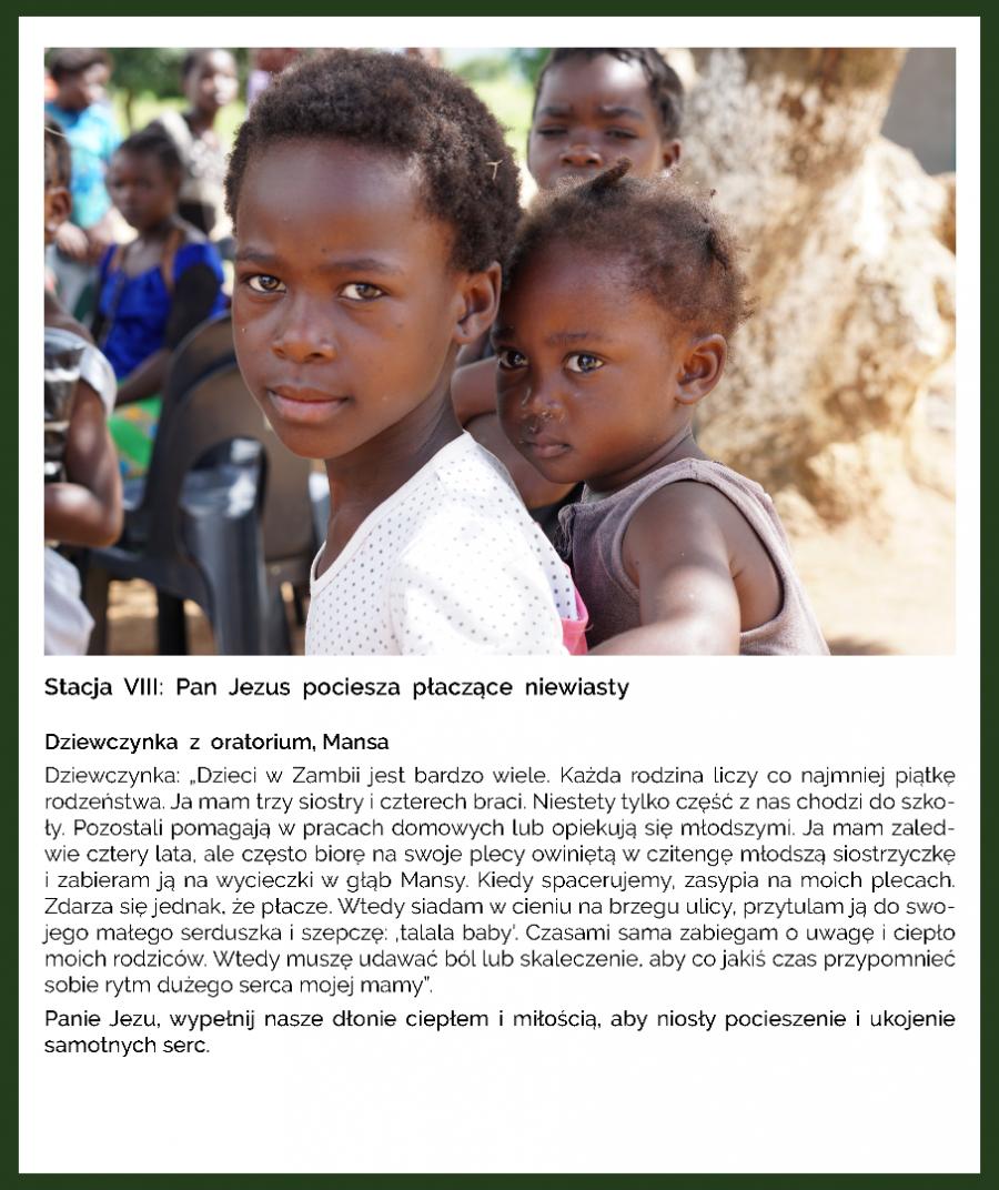 KAMPANIA - MISJA POST - DROGA KRZYŻOWA - ZAMBIA
